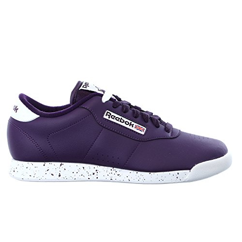 Reebok Women's Princess Sneaker, Royal Orchid/White, 7.5 M US