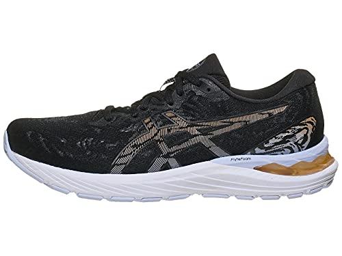 ASICS Women's Gel-Cumulus 23 Running Shoes, 8.5M, Black/Sun Peach