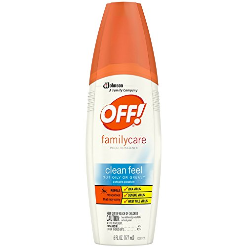 Off Familycare Insect Repellent Clean Feel 6 Oz (2 Pack)