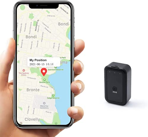 Mini GPS Tracker, Jiobbo Tracker Devices for Car Strong Magnetic...
