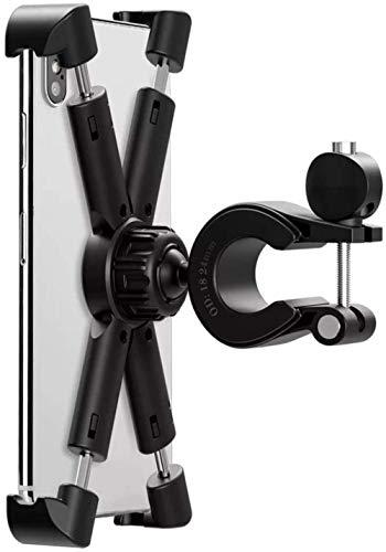 Soporte for bicicleta de teléfono, con la abrazadera de acero inoxidable armas de antivibración y estable 360 ° de rotación de Accesorios for bicicletas / bicicletas soporte for teléfono for 4.7-8 p