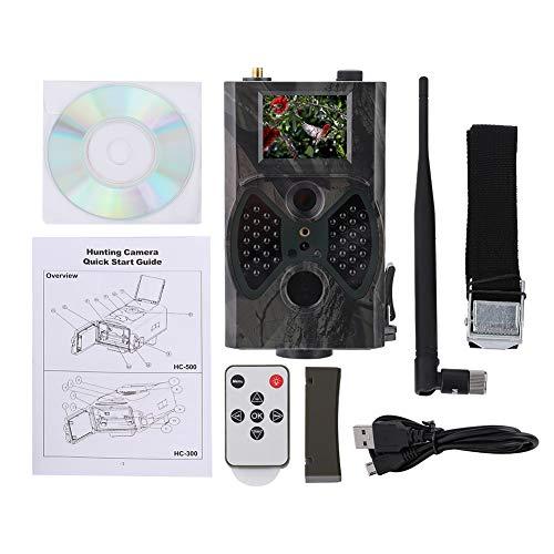 Dilwe Wildkamera, 16MP HD Farbbildschirm Hinterkamera für die Jagd der wild lebenden Tiere Überwachung, landwirtschaftliche Sicherheit
