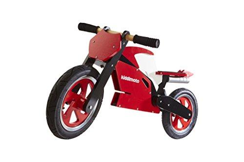 Kiddimoto Superbike Balance Bike, Red