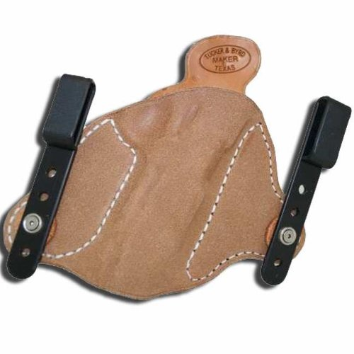 Right Hand - Tucker & Byrd L2 Leather Tuckable IWB Holster - Bersa 380 Thunder