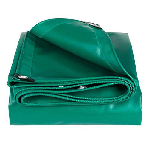 CJshop Lona Impermeable Doble Cara Heavy Duty PVC Lona Cubierta Gruesa de 0,7 mm, Impermeable a Prueba de desgarro, persiana/Rip/Lona Lona de protección (Size : 2m×3m)