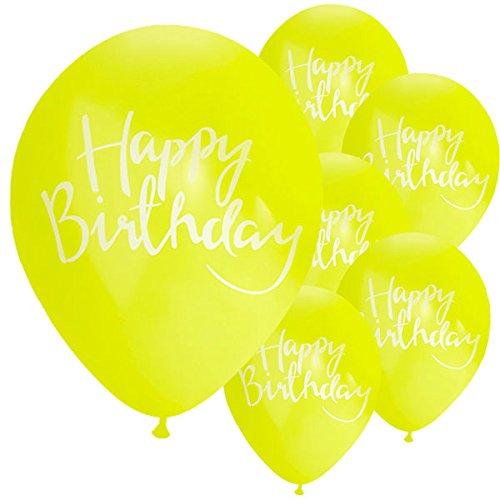 Ginger Ray Joyeux Anniversaire 30,5 cm Ballons X 10 Décorations de Fête – Pick et Mix