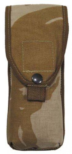 Style bRIT. porte simple dPM desert camouflage militaire molle patronentasche bW