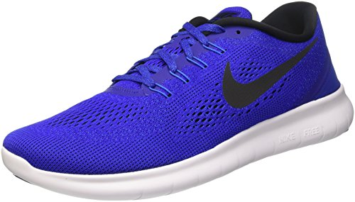 Nike Herren Free Rn Turnschuhe, Blau (Concord/Black/Hyper Cobalt/Photo Blue/White), 48 EU