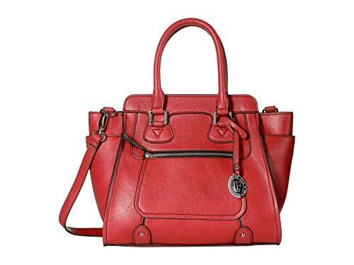 London Fog Knightsbridge Satchel Scarlett One Size