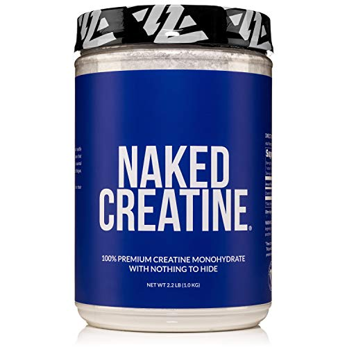 Pure Creatine Monohydrate – 200 Servings - 1,000...