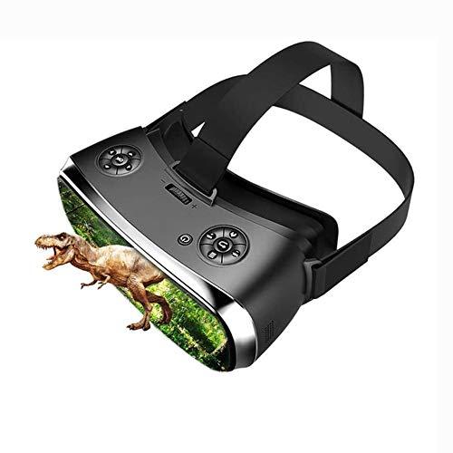 JAY VR-Headset für Xbox One, All-In-One-Virtual-Reality-Headsets PC 3D-Brille Xbox Bluetooth-Helm für 360 / One 2 K HDMI Nibiru Android 5.1-Bildschirm 2560 * 1440,Schwarz