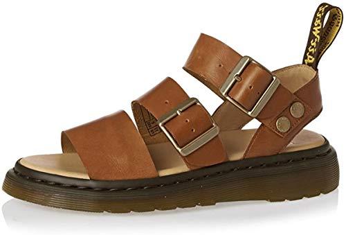 Dr. Martens Men's Gryphon Strap Fashion Sandals, Oak Analine, 11 M, 12 M US