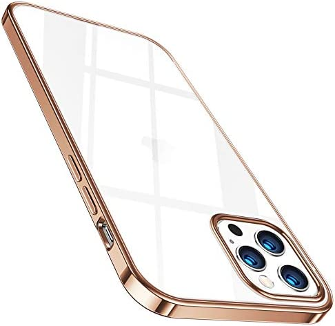 TORRAS Crystal Clear for iPhone 12 Pro Max Case, Non Yellowing, 5.0 Military Shockproof Strong Protective Soft Silicone Slim Thin Case Pure Clear