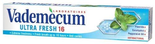 Vademecum Ultra Fresh Zahnpasta 75ml, 3er Pack