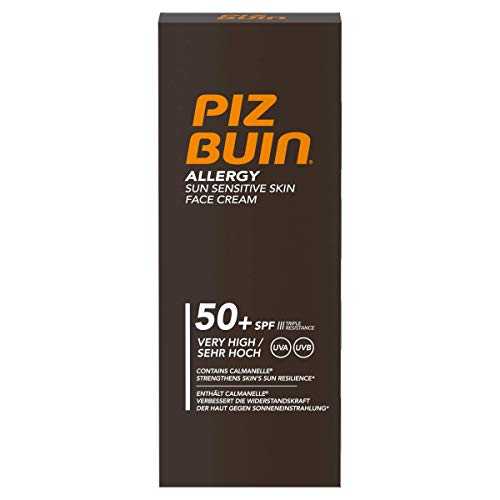 Piz Buin Allergy Gesichtcreme SPF50, 1er Pack(1* 50ml)