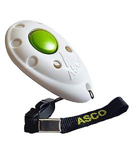 ASCO Clicker pour entraînement de Chien ou Chat Professionnel