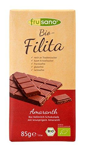 Frusano Filita Amaranth Schokolade, 85 g