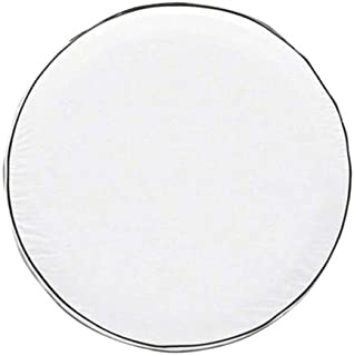 Classic Accessories 75120 OverDrive Custom Fit Spare Tire Cover, White, 25.5