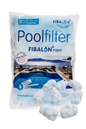 Fibalon Rope 350G Bolsa - en vez de Arena o Filtro de Vidrio para Filtro Piscina + Filteranlagen