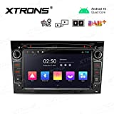XTRONS 7 Inch Android 10 Car Stereo Bluetooth Radio DVD Player GPS Navigation 2K Video Head Unit for...
