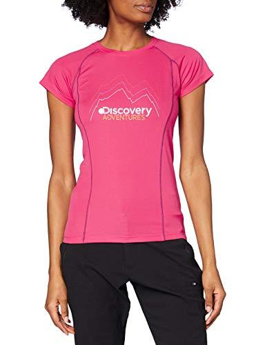 Craghoppers Femmes de Discovery Aventures T-Shirt à Manches Courtes pour Homme 36 Rose électrique