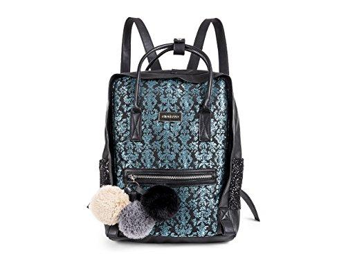 Gioseppo 41115, Bolso mochila para Mujer, Azul, 10x25x35 cm (W x H x L)