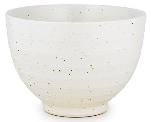 MatchaDNA Handcrafted Matcha Tea Bowl - White