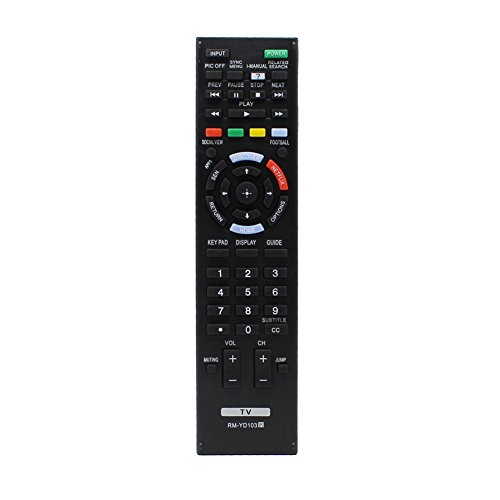 New RM-YD103 RM-YD102 Universal TV Remote Control Replacement for Bravia Sony TV Remote HDTV LCD LED 3D Smart Television KDL-60W630B RM-YD102 RM-YD087 KDL-40W590B KDL-40W600B KDL-48W590B KDL-50W700B