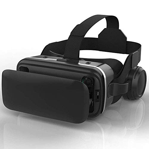Lowest Price! Virtual Reality Headset VR Headset VR 3D Glasses for Movies, Video, Games Glasses VR G...