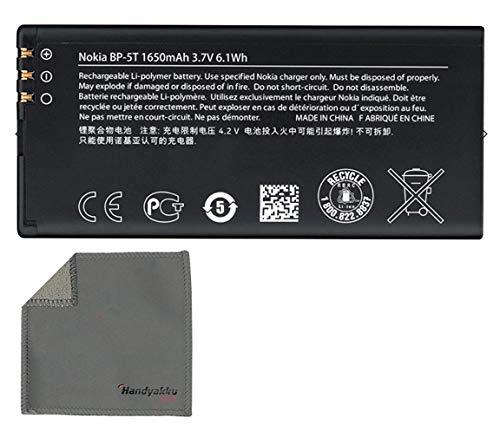 Handyakku4you Original Akku für Nokia BP-5T für Nokia Microsoft Lumia 820 825 inkl. Handyakku4you Reinigungstuch
