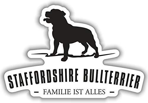Aufkleber Staffordshire Bullterrier wetterfester