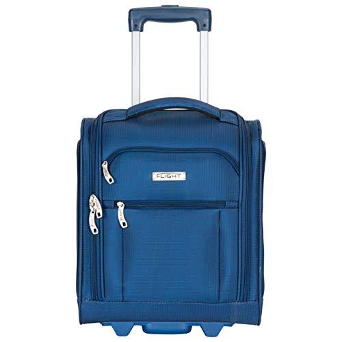 Flight Knight 16,5-inch bagageruimte onder handbagage Smart Cabin-koffer 2 wielen voor easyjet, Ryanair, British Airways, ook ideaal voor treinen en bussen