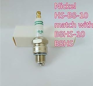 Yanan HOT Nickel Spark Plug HS-B8-10 4pcs Fit for B8HS B8HS-10 B8HSA B8HVX IWF24 W24FS W24FS-U W24FS-U W240M1 W24T1 W3A0 W3AC L78C