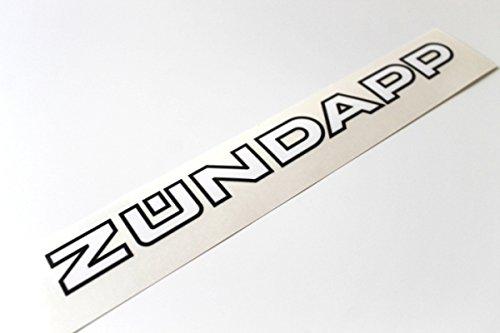 Zündapp Schriftzug Logo Aufkleber Sticker Mofa Mokick Moped #27