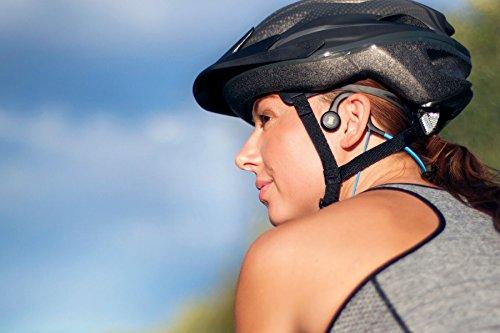 AFTERSHOKZ Sportz Titanium Bone conduction Casque audio à conduction osseuse pour activités...