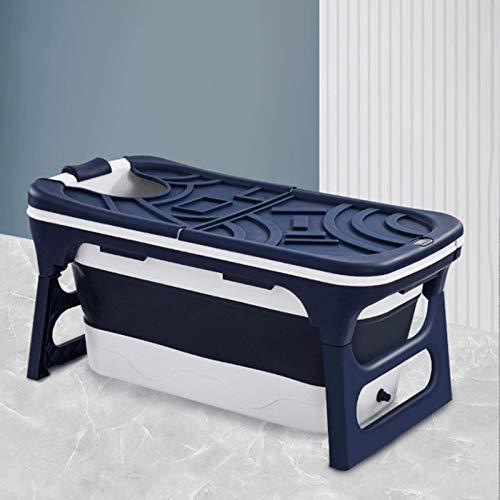 CHUTD Bañera Plegable portátil para Adultos, bañera portátil para Ducha de Adultos, bañera de plástico portátil Grande, bañera Plegable para niños pequeños