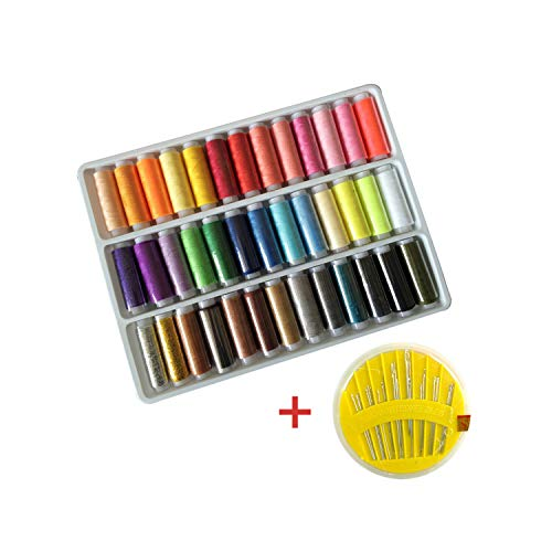 %60 OFF! 39 Different Color Sewing Thread and 902 Needle Hand Stitches Box Set/Home Sewing/Wiring/Ha...
