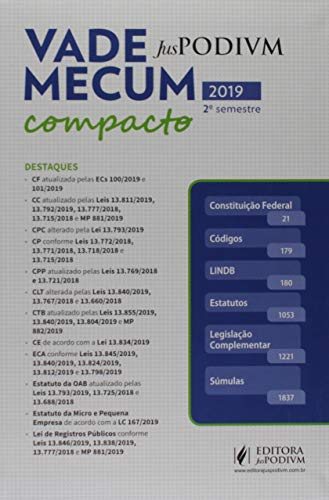 Vade Mecum Compacto: 2019 - 2º Semestre