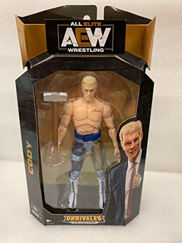 AEW JAZWARES – AEW0002 Unrivalled Collection – Cody Rhodes – 16.5cm Wrestling Actionfigur
