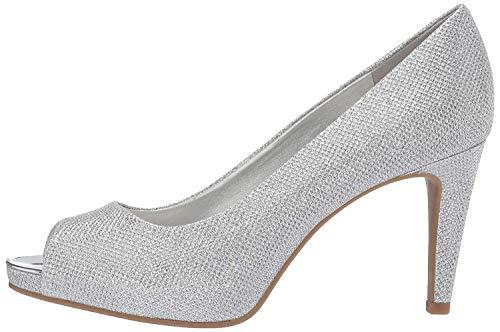 Bandolino Footwear Women's Rainaa Pump, Silver, 7.5