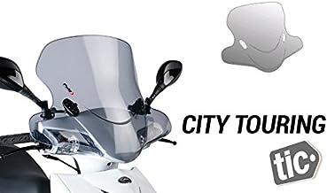 PUIG - 0200H : Cúpula carenabris Parabrisas City Touring Color Ahumado : DERBI -> GP1 50 (-)