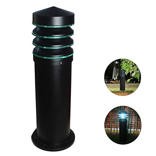 XXLYY Post Cap Lights, Outdoor Park Pathway Light with E27 Lamp Holder, Waterproof Landscape Lighting for Courtyard Christmas Path Villa, 60CM