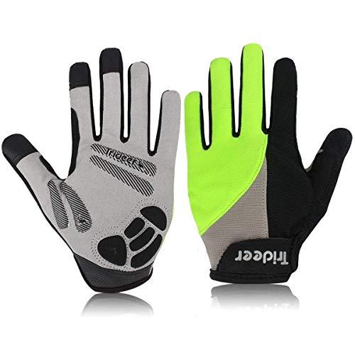 Trideer Padded Full Finger Cycling Gloves