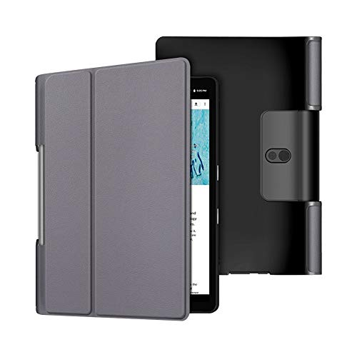 Yudesun Funda para Lenovo Yoga Smart Tab YT-X705 Yoga Tab 5 YT-X705F 10.1 Pulgada Tablet 2019 con Soporte Función PU Cuero Delgado Cáscara Protector Fundas Duras
