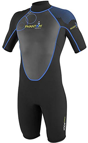 Phantom Aquatics Marine Men's Shorty Wetsuit,...