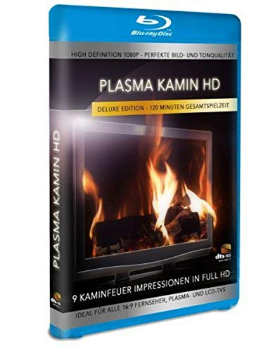 Plasma Kamin HD - 9 Kaminfeuer Impressionen in High Definition [Blu-ray] [Deluxe Edition]