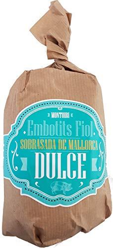 Sobrasada bolles dulce Montuiri de Mallorca de 400 g. aproximadamente Indicación geográfica protegida