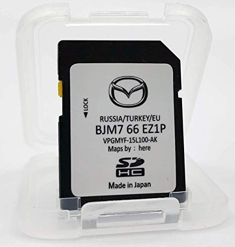 Mazda Connect Navi SD-Karte Update Europa BJM7 66 EZ1P Version 2020/2021