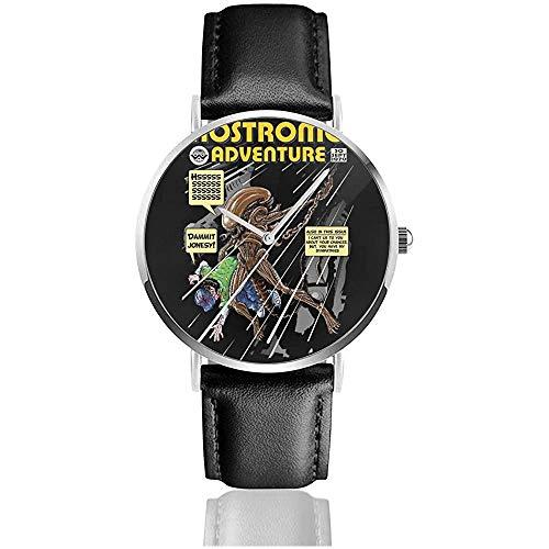 Alien Comic Book Cover Nostromo Adventures Relojes Reloj de Cuero de Cuarzo...