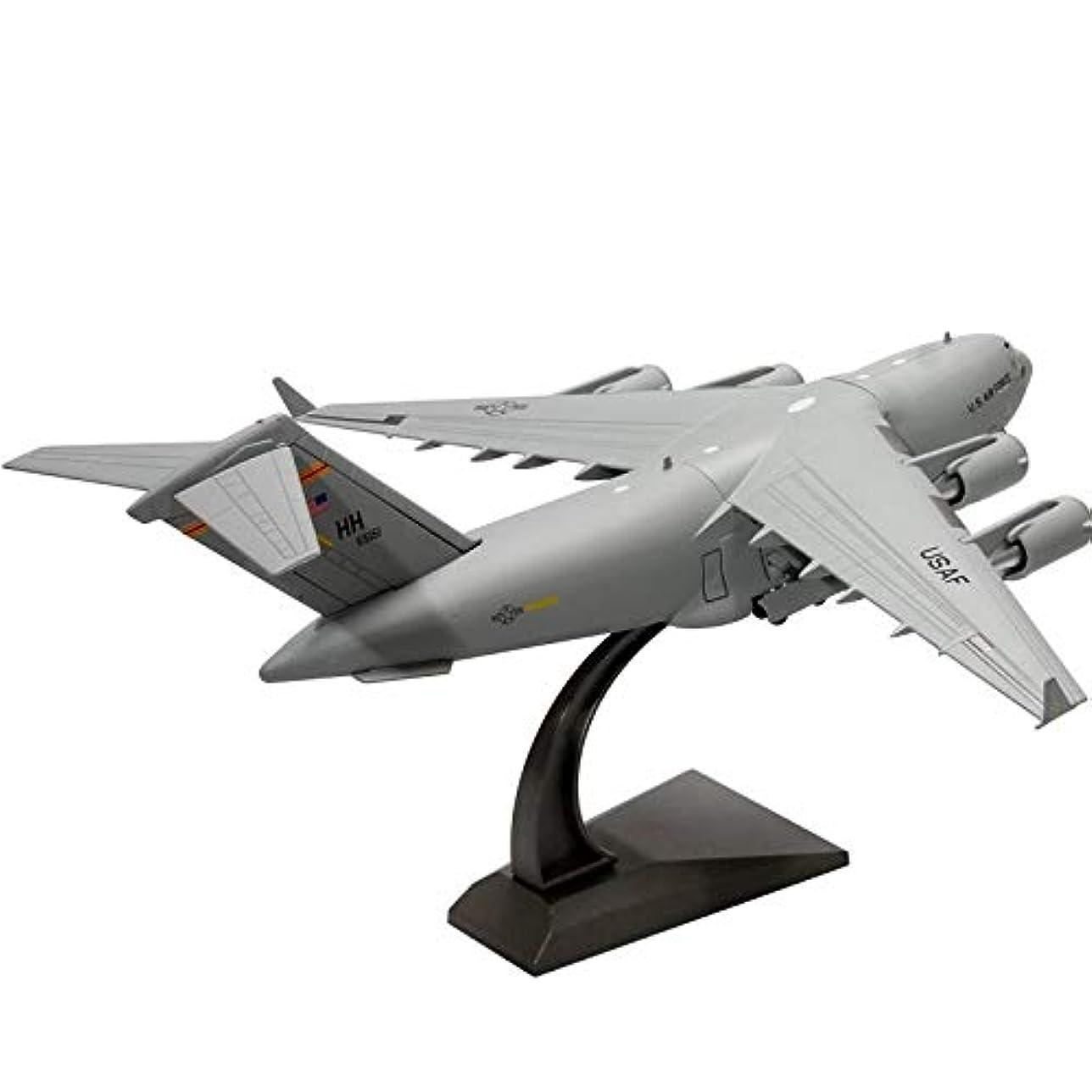 国歌周術期カーフXINGGUANG1/200 スケールカナダ USAF C-17 Globemaster Iii 軍用輸送航空機ダイキャストメタル飛行機模型キッズおもちゃのための航空機モデルプレイ